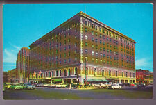 CANADA London Ontario The Hotel London 1954 Street View Old Vintage Postcard