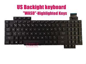 US Colorful Backlit keyboard for Asus GL503V GL503VD GL503VM GL503GE
