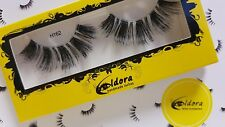 Eldora False Eyelashes H162 Human Hair Strip Lashes