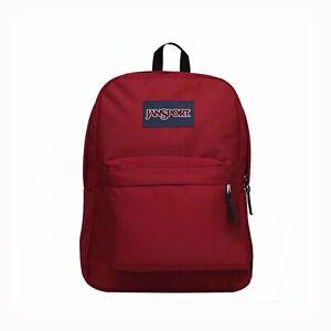 New JANSPORT SUPERBREAK Backpack 100% Authentic School Bag - Choose Color