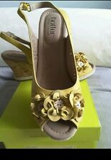 Hotter peep toe sling back sandals uk size 5 .5 fab condition rrp £69  with box