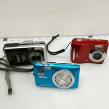 Lot Of (3) Digital Cameras Canon/Nikon/Kodak-For Parts Or Repair #G742
