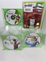 Xbox 360 Lot Of 3 Games: Madden NFL 11, NBA 2K14, NBA Live 10 &  Tiger Woods 08