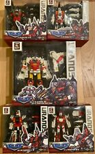 New TFC Transformers Uranus Superion *USA Blackbird Falcon Harrier Phantom Eagle