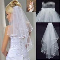 Tulle Bride Net GVES Short For White Layers Wedding Elegant Beauty Two