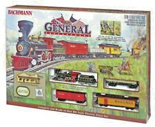 Bachmann THE GENERAL W/E-Z TRACK SYSTEM Train Set #00736 HO Scale