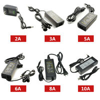 2A 3A 5A 6A 8A 10A Power Supply Adapter Transformer for 5050 5630 LED Strip