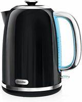 Breville Impressions Electric Kettle, 1.7 Litre 3 KW Fast Boil - Black