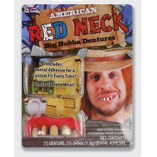 American Texas Red Neck Big Bubba Dentures Fancy Dress Accessory