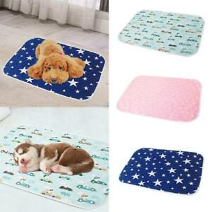 Waterproof Pet Puppy Pee Pads Washable Reusable Dog Pad Mat Cat Training
