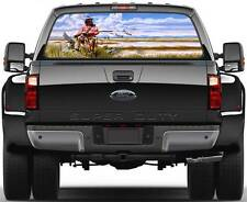 Hunter Duck Hunting Window Graphic Decal Sticker Truck SUV Van Car