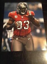 Gerald McCoy autographed nfl 8x10,Tampa bay buccaneers coa & holo100% authentic