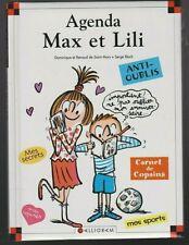 AGENDA perpétuel MAX ET LILI Dominique de Saint-Mars Serge Bloch