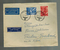 1943 Netherlands Legion Waffen SS airmail cover to Germany