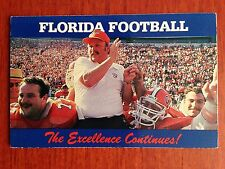 CFB 1985 FLORIDA GATORS Football Schedule College FB Coach GALEN HALL