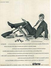 PUBLICITE ADVERTISING  1964    AIRBORNE   sièges fauteuils