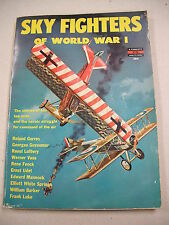 """""""SKY FIGHTERS OF WORLD WAR I"""" ILLUSTRATED BIOS OF 10 FAMOUS WWI ACES!"""
