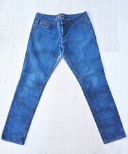 Rare HANG TEN Skinny Blue TIe Dye Jeans Women's Sz 13