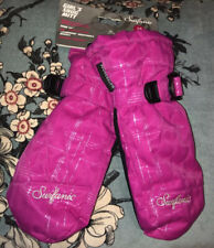 Surfanic Girls Pink Snow Mittens Age 7-9 Years Ans Años Jahre