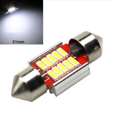 12SMD 31mm 4014 LED Light Bulb Dome Festoon Canbus Internal Plate Lamp White 1Pc