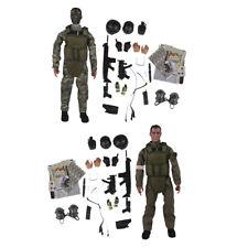 1//6 Flexibler Männlicher Soldat Aktionfigur Körper Mit Kleidung /& Zubehör