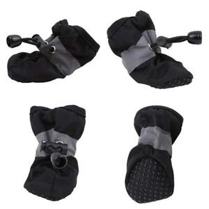 Waterproof Pet Dog Puppy Toddler Shoes Anti-slip Warm Rain Boots HS