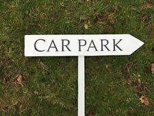 Personalised Painted Wooden Arrow Sign  House Garden Outdoor Door Name Stake