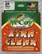 McCoy Fishing Line CoPolymer Xtra Clear 250 Yard Spool 25LB Test
