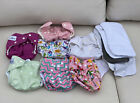 Lot+7+Cloth+Diapers+FuzziBunz%2C+Babygoal%2C+And+More+Liners+Girls