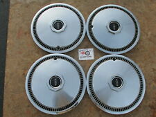 """1972-79 Lincoln Mark Series 15"""" Wheel Covers, Hubcaps, Set Of 4"""