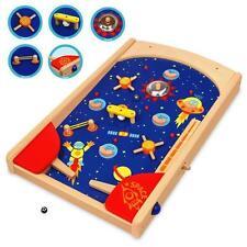 Artiwood Wooden Space Pin Ball Machine Game Boys Girls