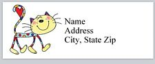 Personalized address labels Cartoon Cat Buy 3 Get 1 free (p 624)