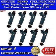 8x OEM Fuel Injectors 00-05 Tundra Sequoia 4 Runner Land Cruiser Lexus 4.7L V8