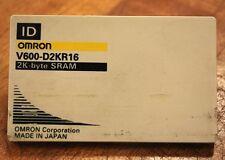 Omron V600-D2KR16 2 K-byte SRAM V600D2KR16 - USED