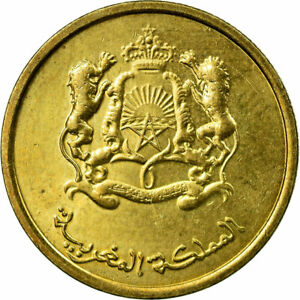 [#672581] Coin, Morocco, Mohammed VI, 10 Santimat, 2011, Paris, EF(40-45), Brass