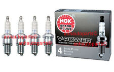 4-New NGK Copper Spark Plugs BPR6ES-11 #7133 Made in Japan
