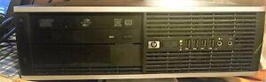 (4 Lot) HP Compaq 8000 Elite SFF PC Intel Core 2 @ 2.66GHz 4GB RAM 250GB HDD