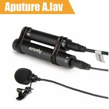 Aputure A.lav ez Clip-on Lapel Lavalier Microphone 3.5mm For iOS iPhone 7 6 6sNC