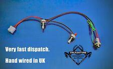 Solderless Guitar Wiring Harness / rig vol / tone pots + jack socket heavy duty.