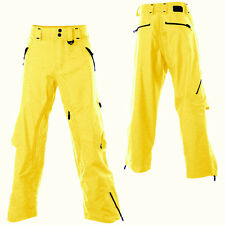 OAKLEY Mystic WATERPROOF Ski SNOW Board PANT Men sz XL X LARGE Loose YELLOW $375