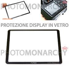 Protezione in vetro proteggi display NIKON D7000 FOTGA ORIGINALE D 7000