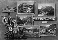 Cartolina - Postcard - Saluti da - Alba di Canazei - Vedutine - 1958