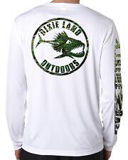 Dixie Land Outdoors Bass fishing Microfiber  t shirt Moisture Wicking  50+ UV