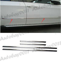 Stainless Steel Side Door Body Molding Trim Cover Garnish For BMW X5 E70 08-13