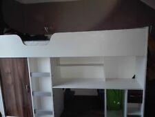 Etagenbett Schreibtisch : Hochbetten mit eingebautem schreibtisch günstig kaufen ebay