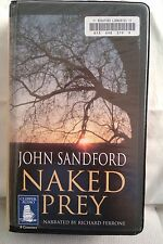 Naked Prey by John Sandford: Unabridged Cassette Audiobook (J3)
