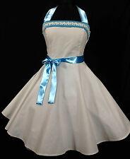 50er Rockabilly Petticoat Braut  Konfirmation Abiball  Jugendweihe Kleid 34-54