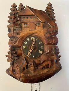 German Cuckoo Clock For parts or repair