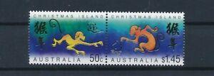 D120635 Year of the Monkey Christmas Island MNH Australia