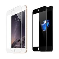 New 5D 9H Tempered Glass Screen Protector Full Coverage HD For iPhone 7 Plus